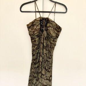 Snakeskin print Laundry by Shelli Segal Dress